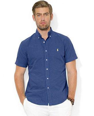 Рубашка с коротким рукавом с пристегивающимся воротником