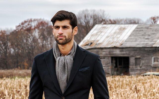 Как выбрать шарф мужчине