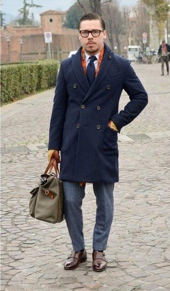 Пальто шелковый длинный шарф