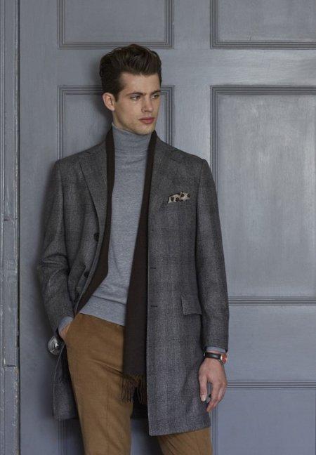 Шарф пальто