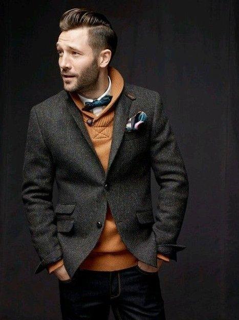 Шалевый воротник с пиджаком