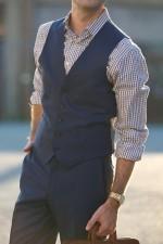 Вопрос-ответ: можно ли носить костюмный жилет как отдельный элемент гардероба?