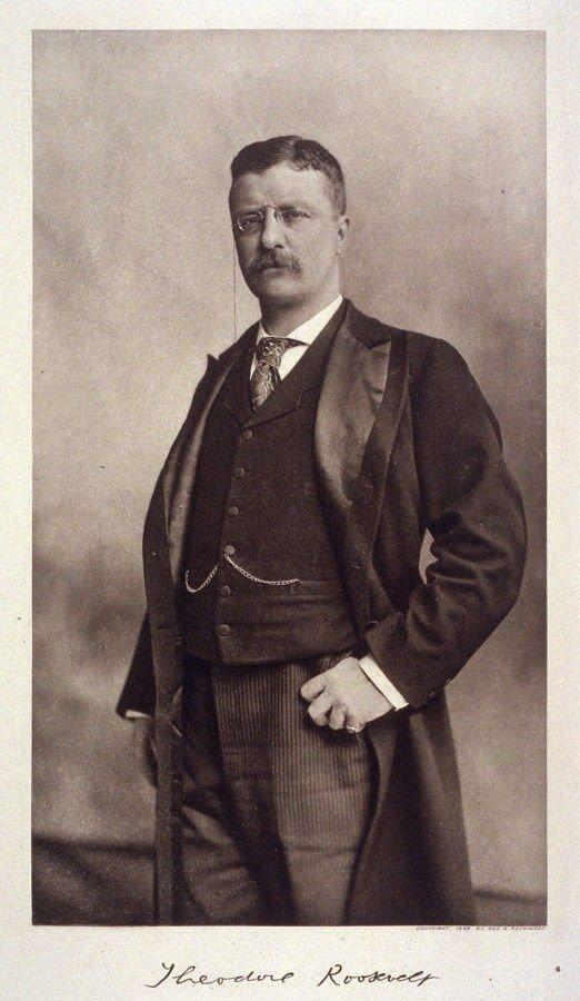 Теодор Рузвельт 1898 г.