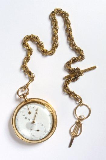 Lieutenant Watts' watch часы конца 18 века