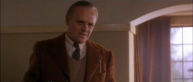 """Энтони Хопкинс, кадр из фильма """"Страна теней"""" 1993 г."""
