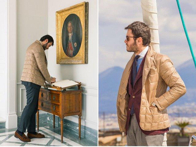 Куртка короче пиджака