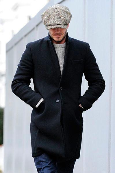 Бекхэм-пальто-кепка