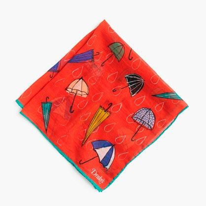 Красный-нагрудный-платок-Дрейкс