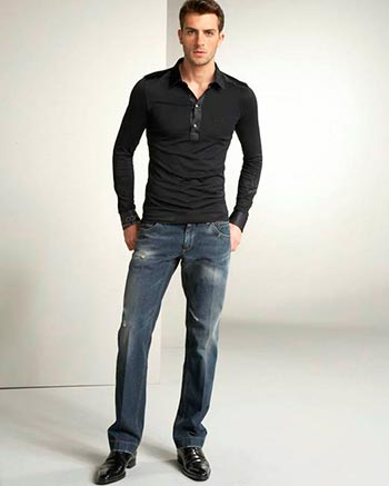 Стрелки на джинсах