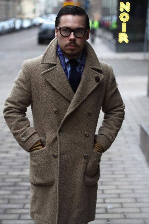 Двубортное-пальто