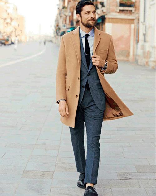 Однобортное-пальто