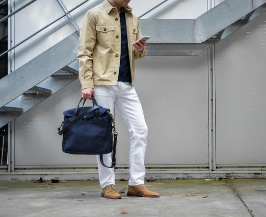 Белые-джинсы