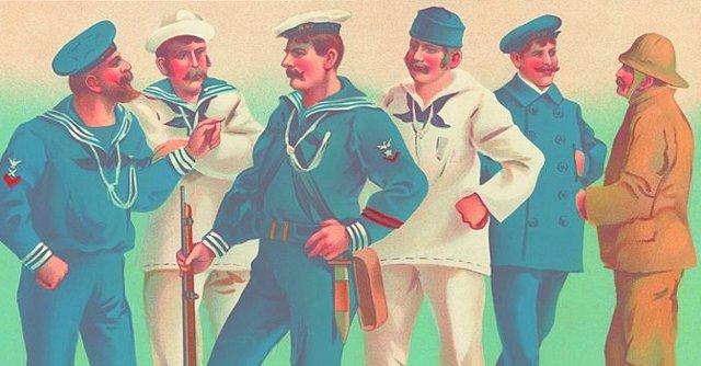 Американская форма морская 1899 год