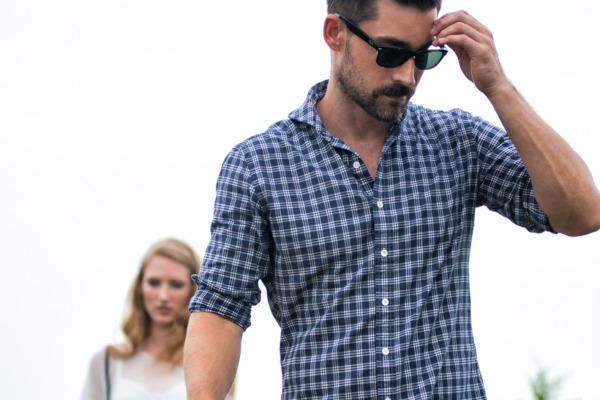 рубашка или сорочка кэжуал