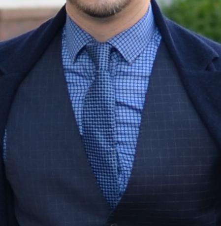 Андрей Курпатов рубашка и галстук