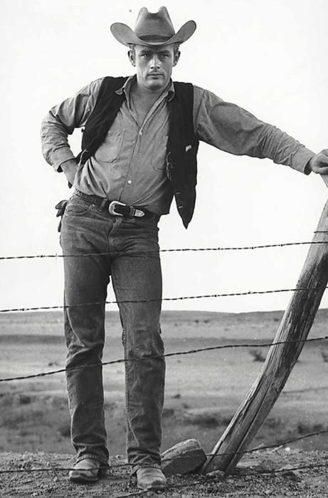 Джеймс Дин буткат, ковбойские джинсы