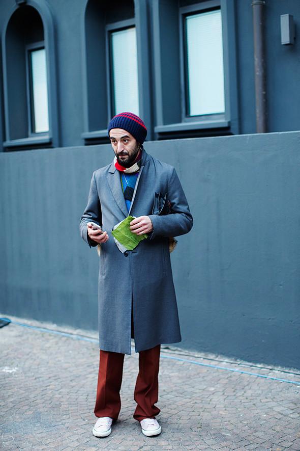 Клешеные брюки стритстайл мужчины