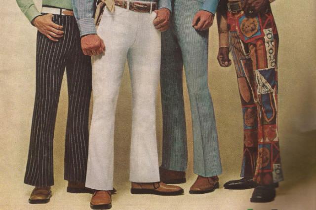 Мода 70-х клёш мужчины