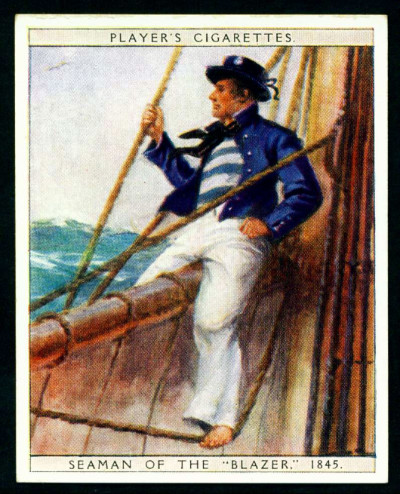 Cigarette Card - Seaman 1845