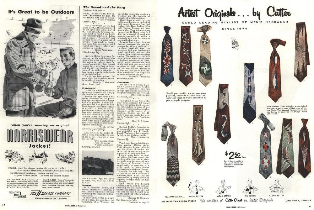 Журнал Esquire 1953 года