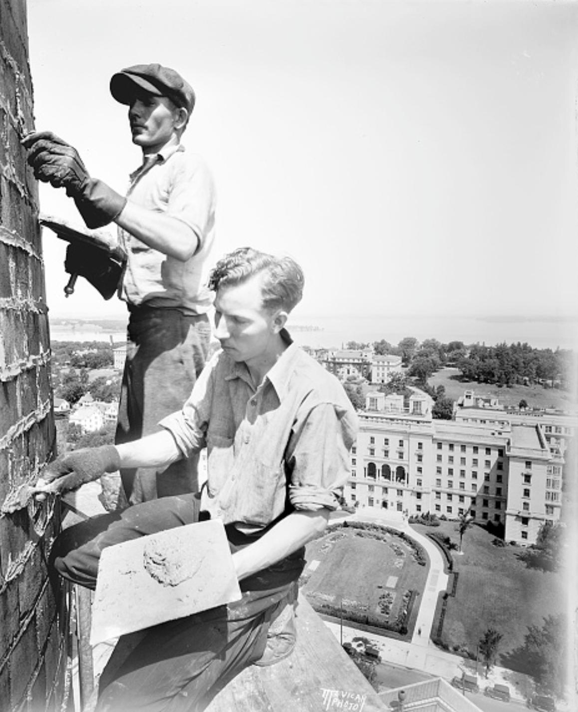 Рабочие. США, г. Мэдисон, штат Висконсин, 1931 г.
