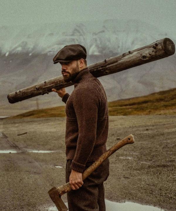 Фото английского производителя мужской одежды в винтажном стиле THOMAS FARTHING